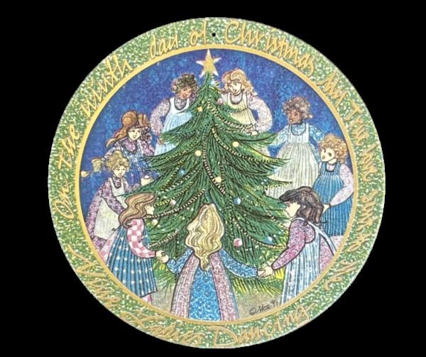 12 Days of Christmas-9 Ladies-Dancing ORN