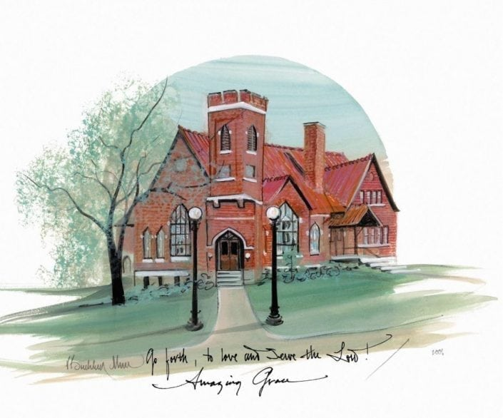 CanadaGooseGallery-Waynesville-Ohio-pbuckleymosst-limitededition-church-Waynesville-Ohio