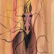 pbuckleymoss-original-watercolor-horse