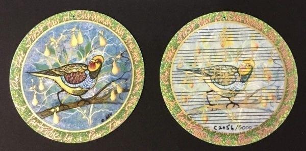 pbuckleymoss-ornament-limitededition-Porcelain-gifts-1 day-christmas-partirdge