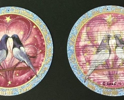 pbuckleymoss-ornament-limitededition-Porcelain-gifts-10 days-christmas-2 doves