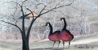 pbuckleymoss-original-watercolor-geese