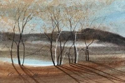 Painting-pbuckleymoss-Original-Watercolor-Landscape
