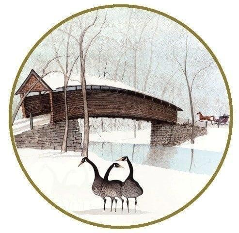 CanadaGooseGallery-WaynesvilleOhio-pbuckleymoss-ornament-limitededition-geese