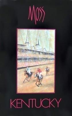 CanadaGooseGallery-WaynesvilleOhio-Pbuckleymoss-poster-art-horse-KYDerby-Race
