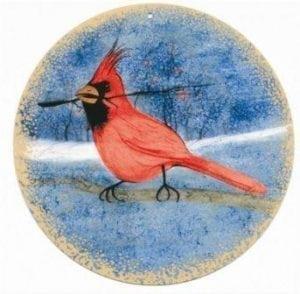 CanadaGooseGallery-WaynesvilleOhio-pbuckleymoss-ornament-limitededition-cardinal