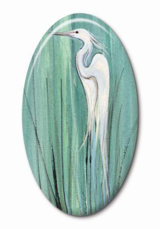 PBuckleyMoss-Waynesville-Ohio-CanadaGooseGallery-Art-Artist-LimitedEdition-Jewelry-Bird-Egret