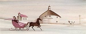 Art-Artist-PBuckleyMoss-CanadaGooseGallery-WaynesvilleOhio-LimitedEdition-Print-HomeDecor-Decorating-Horse-Buggy-Barn-Farm