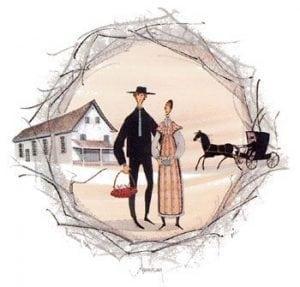 Art-Artist-PBuckleyMoss-CanadaGooseGallery-WaynesvilleOhio-LimitedEdition-Print-HomeDecor-Decorating-VirginiaArtist-Wedding-Quaker-Buggy-Church