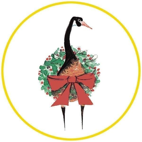 pbuckleymos-limitededition-ornament-goose-christmas