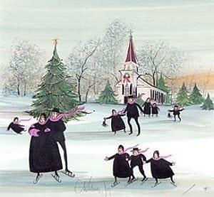 PBuckleyMoss-Waynesville-Ohio-CanadaGooseGallery-Art-Artist-LimitedEdition-Christmas-rare