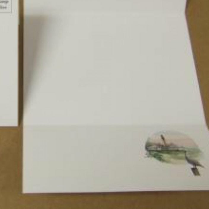 Art, Artist, P Buckley Moss, Canada Goose Gallery, Waynesville, Ohio, Limited Edition, Notecard, Stationary