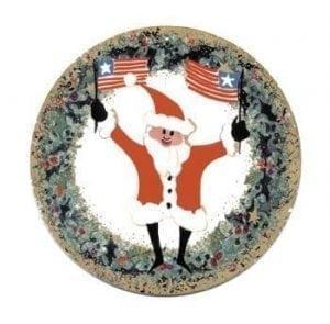 PBuckleyMoss-Waynesville-Ohio-CanadaGooseGallery-Art-Artist-LimitedEdition-Ornament-Patriotic-KrisKringle-Christmas
