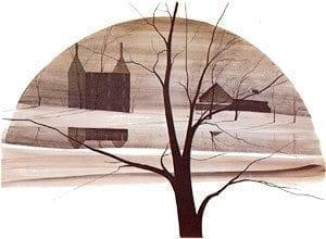 PBuckleyMoss-Waynesville-Ohio-CanadaGooseGallery-Art-Artist-LimitedEdition-Print-IconicTree-Landscape-Barn-Virginia-Vintage