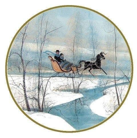 CanadaGooseGallery-Waynesville-Ohio-pbuckleymoss-ornament-limitededition-winter-sleigh