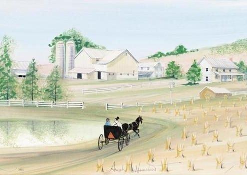 Art-Artist-PBuckleyMoss-CanadaGooseGallery-WaynesvilleOhio-LimitedEdition-Print-HomeDecor-Decorating-Buggy-Barn-Family-Farm