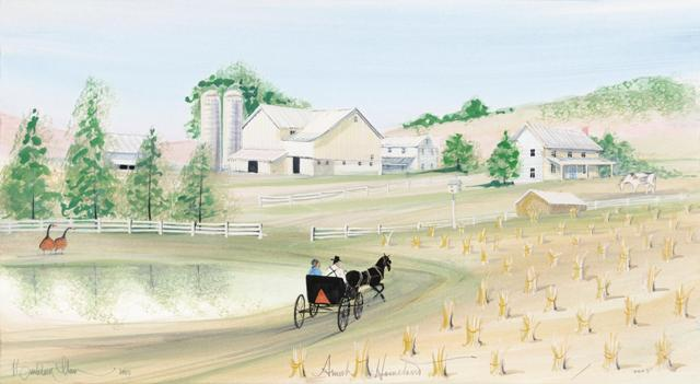 Art-Artist-PBuckleyMoss-CanadaGooseGallery-WaynesvilleOhio-LimitedEdition-Print-HomeDecor-Decorating-Buggy-Barn-Family-Farm