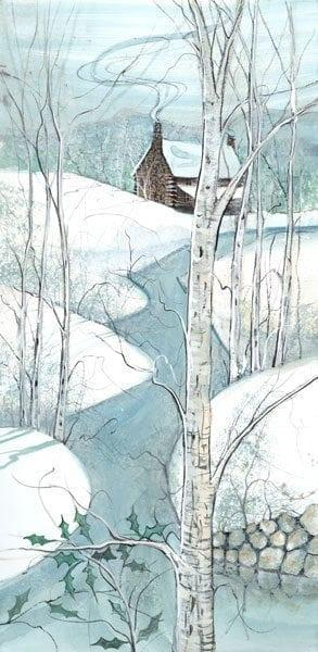 PBuckleyMoss-Waynesville-Ohio-CanadaGooseGallery-Art-Artist-LimitedEdition-Print-Appalachian-Winter