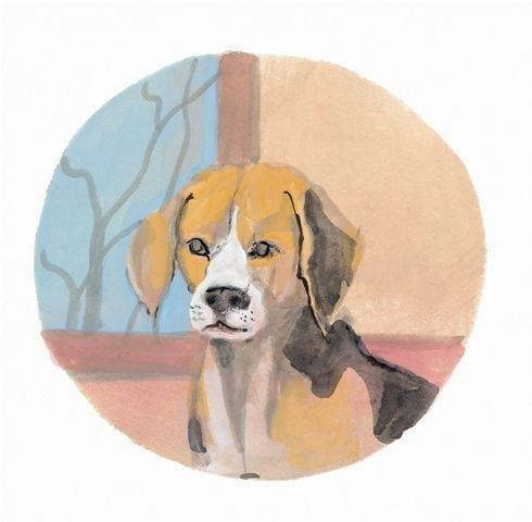 pbuckleymoss-print-limitededition-dog-beagle