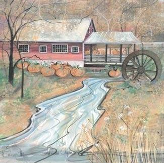 Clifton-Mill-Framed-Print-PBuckleyMoss-Art-lithograph