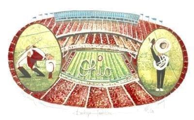 Buckeye Traditions features the Ohio State Buckeye team, stadium and band.