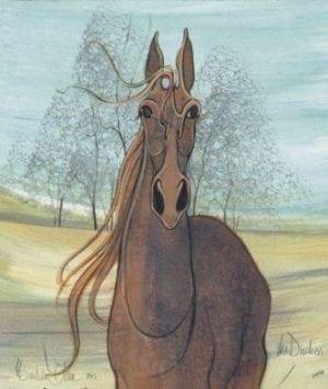 CanadaGooseGallery-WaynesvilleOhio-Framed-pbuckleymoss-limited-edition-print-horse