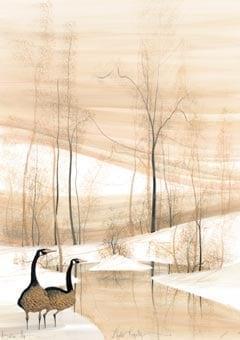 PBuckleyMoss-Waynesville-Ohio-CanadaGooseGallery-Art-Artist-LimitedEdition-Landscape-Geese-Goose-Tree