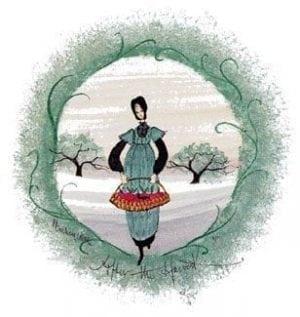 Art-Artist-PBuckleyMoss-CanadaGooseGallery-WaynesvilleOhio-LimitedEdition-Print-HomeDecor-Decorating-Orchard-Amish-Apples-Basket-Harvest