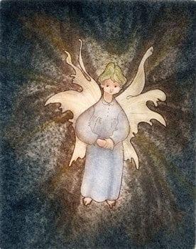 CanadaGooseGallery-Waynesville-Ohio-pbuckleymoss-etching-limitededition-angel-boy