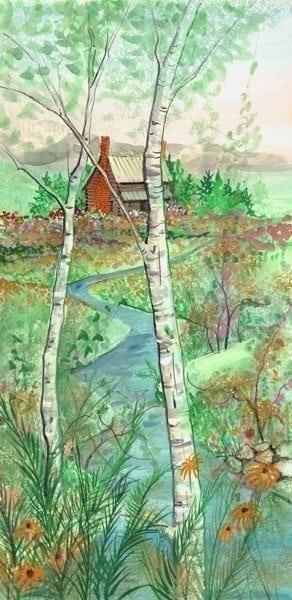 Art-Artist-PBuckleyMoss-CanadaGooseGallery-WaynesvilleOhio-LimitedEdition-Print-HomeDecor-Decorating-VirginiaArtist-Appalachian-Summer-Virginia