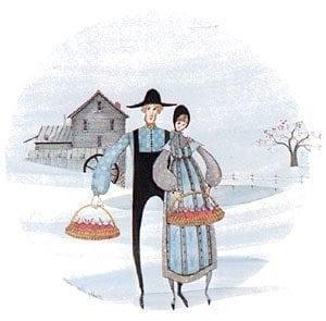 Art-Artist-PBuckleyMoss-CanadaGooseGallery-WaynesvilleOhio-LimitedEdition-Print-HomeDecor-Decorating-VirginiaArtist-Amish-Farm-Mill-Apples-Wedding