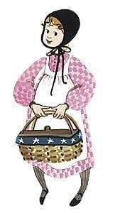 Basket Girl-PBuckleyMoss-Waynesville-Ohio-CanadaGooseGallery-Art-Artist-LimitedEdition