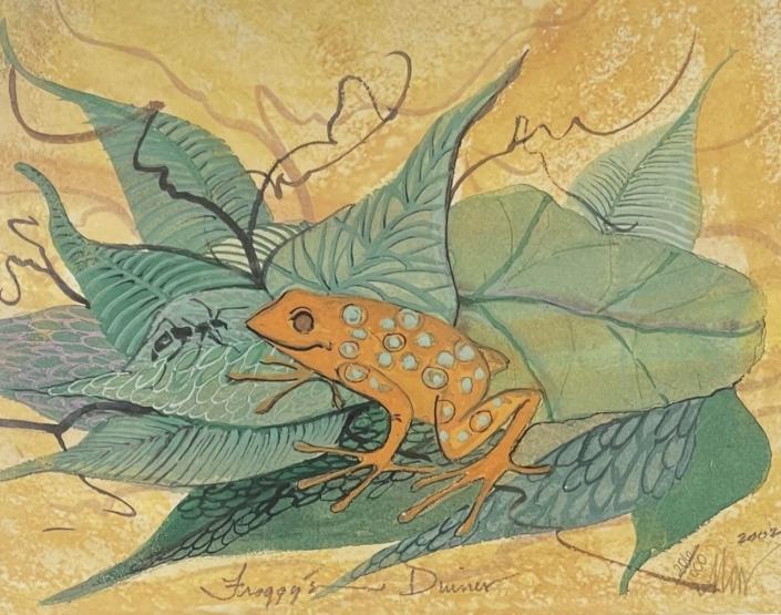 froggy's-dinner-p-buckley-moss-art-print