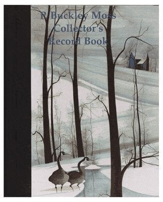 If you have a collection of P Buckley Moss art this Collector's record book is a must. Space of information about the art, values, condition. Tool for keeping track resale and insurance information.