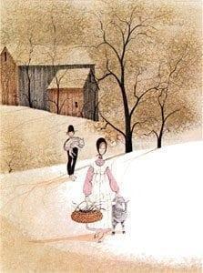 Vintage-lamb-pbuckleymoss-barn-limitededition-print-art