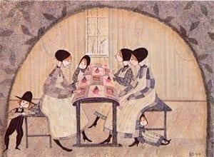 pbuckleymoss-print-limitededition-four-girls-quilt