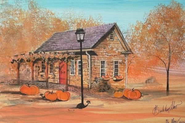 p-buckley-moss-harvest-at-the-stone-cottage-art-print