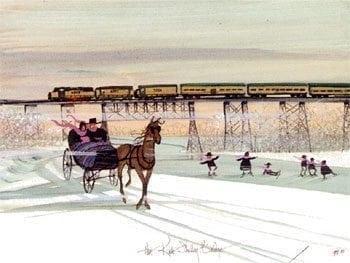 Print-PBuckleyMoss-Art-Horse-Framed-CanadaGooseGallery-WaynesvilleeOhio