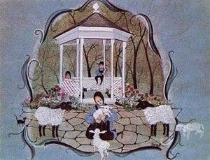 homedecor-Vintage-lamb-pbuckleymoss-children-limitededition-print-art