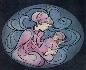 pbuckleymoss-etching-limitededition-madonna-baby-child