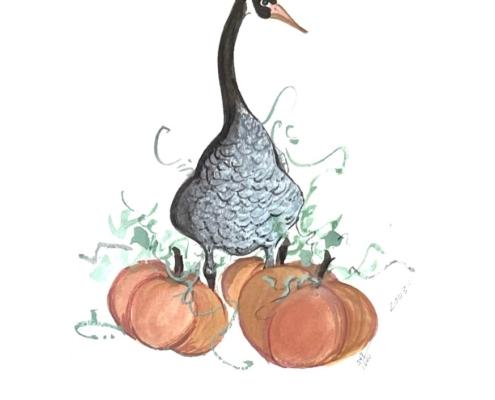 p-buckley-moss-halloween-goose-art-print