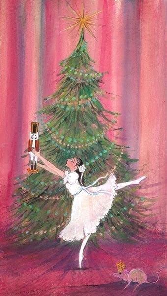 nutcracker-christmas-ballot-dance-art-Pbuckleymoss-limitededition-print