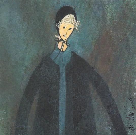 Amish Woman print P Buckley Moss