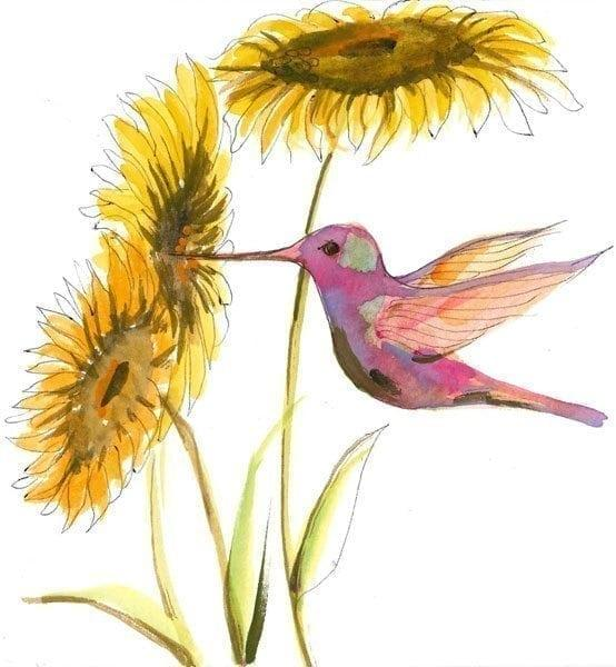 PBuckleyMoss-Waynesville-Ohio-CanadaGooseGallery-Art-Artist-LimitedEdition-Print-PatchworkBeauty-Hummingbird-Bird