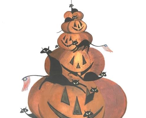 p-buckley-moss-patriotic-pumpkin-stack-art-print