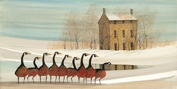 PBuckleyMoss-Waynesville-Ohio-CanadaGooseGallery-Art-Artist-LimitedEdition-Print-Landscape-Geese