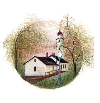 PBuckleyMoss-Waynesville-Ohio-CanadaGooseGallery-Art-Artist-LimitedEdition-Michigan-Lighthouse
