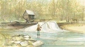 fishing-river-limitededition-print-pbuckleymoss-decor