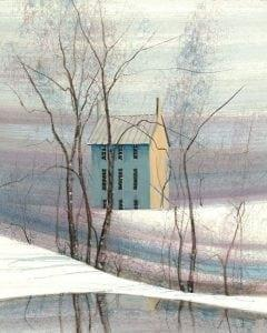 PBuckleyMoss-Waynesville-Ohio-CanadaGooseGallery-Art-Artist-LimitedEdition-Print-Snow-Winter