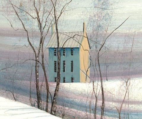 PBuckleyMoss-Waynesville-Ohio-CanadaGooseGallery-Art-Artist-LimitedEdition-Print-Snow-Winter